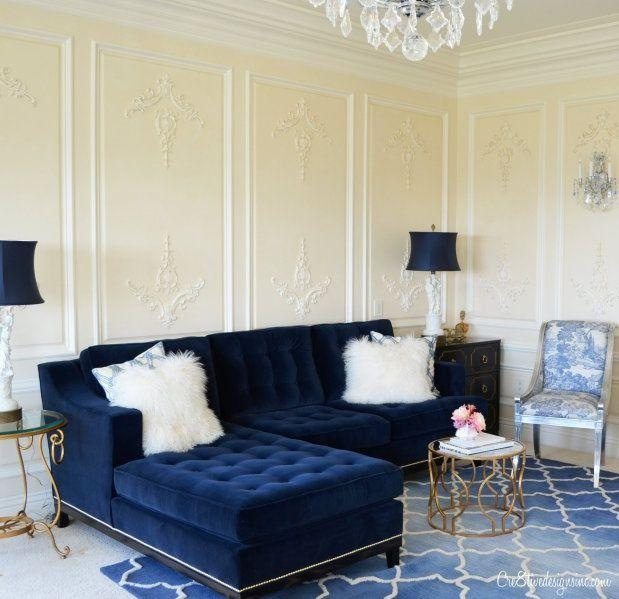 Best 20+ Blue Velvet Couch Ideas On Pinterest—No Signup Required Regarding Blue Velvet Tufted Sofas (Image 3 of 20)