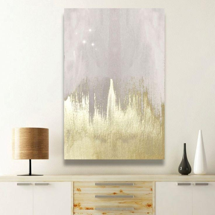Best 20+ Canvas Wall Art Ideas On Pinterest—No Signup Required Inside Silver And Gold Wall Art (Image 4 of 20)