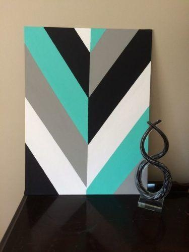 Best 20+ Canvas Wall Art Ideas On Pinterest—No Signup Required Intended For Blue And Green Wall Art (Image 5 of 20)