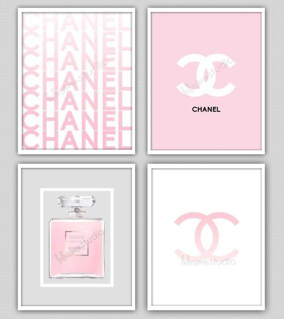 Best 20+ Chanel Wall Art Ideas On Pinterest | Chanel Print, Chanel Intended For Chanel Wall Decor (View 12 of 20)