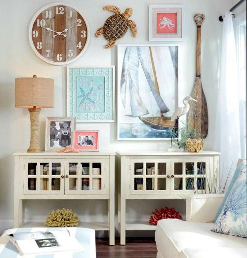 Best 20+ Coastal Wall Decor Ideas On Pinterest | Hanging Photos Regarding Beach Cottage Wall Decors (Image 10 of 20)