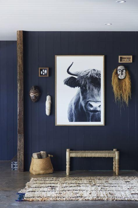 Best 20+ Dark Blue Walls Ideas On Pinterest | Navy Walls, Dark In Dark Blue Wall Art (Image 5 of 20)