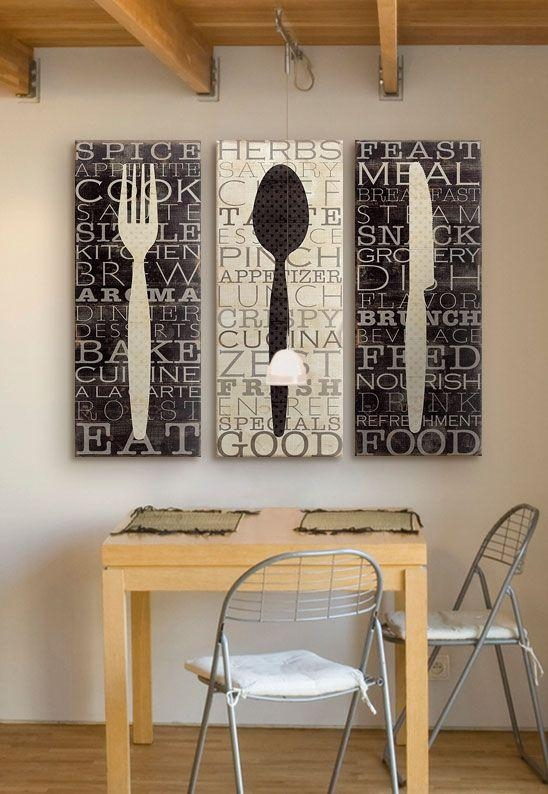Best 20+ Dining Room Wall Art Ideas On Pinterest | Dining Wall Regarding Dining Wall Art (Image 5 of 20)