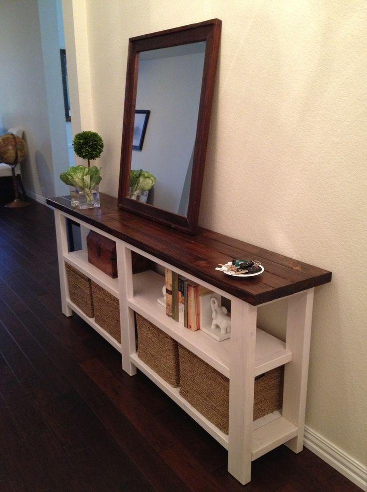 Best 20+ Diy Sofa Table Ideas On Pinterest | Diy Living Room, Diy Inside Sofa Tables With Storages (View 12 of 20)