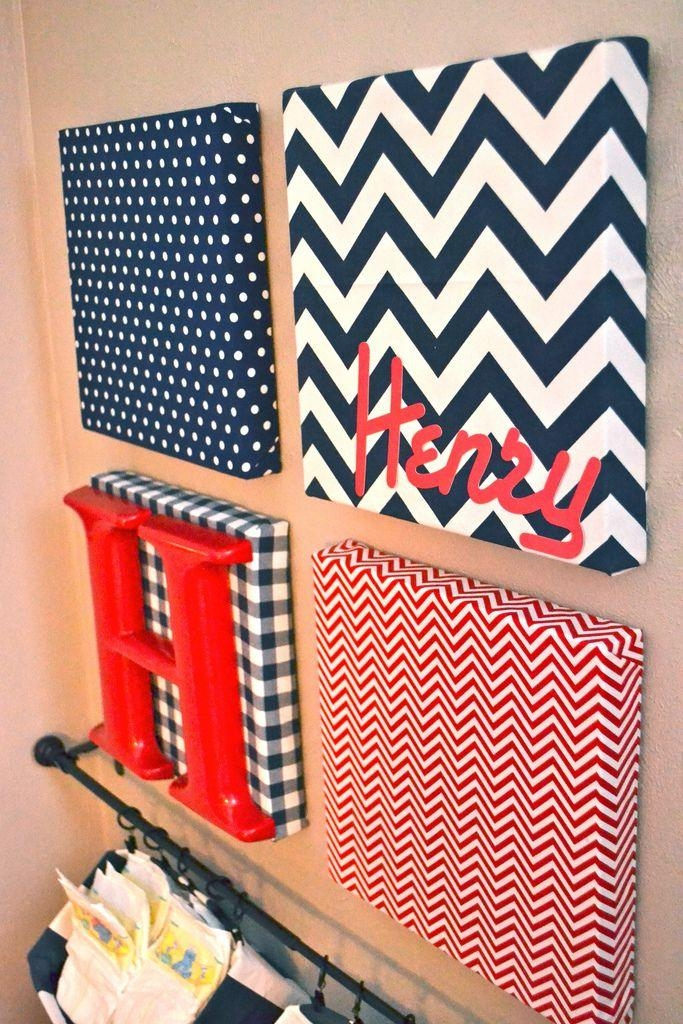 Best 20+ Fabric Covered Canvas Ideas On Pinterest | Fabric Wall In Diy Pinterest Canvas Art (View 10 of 20)