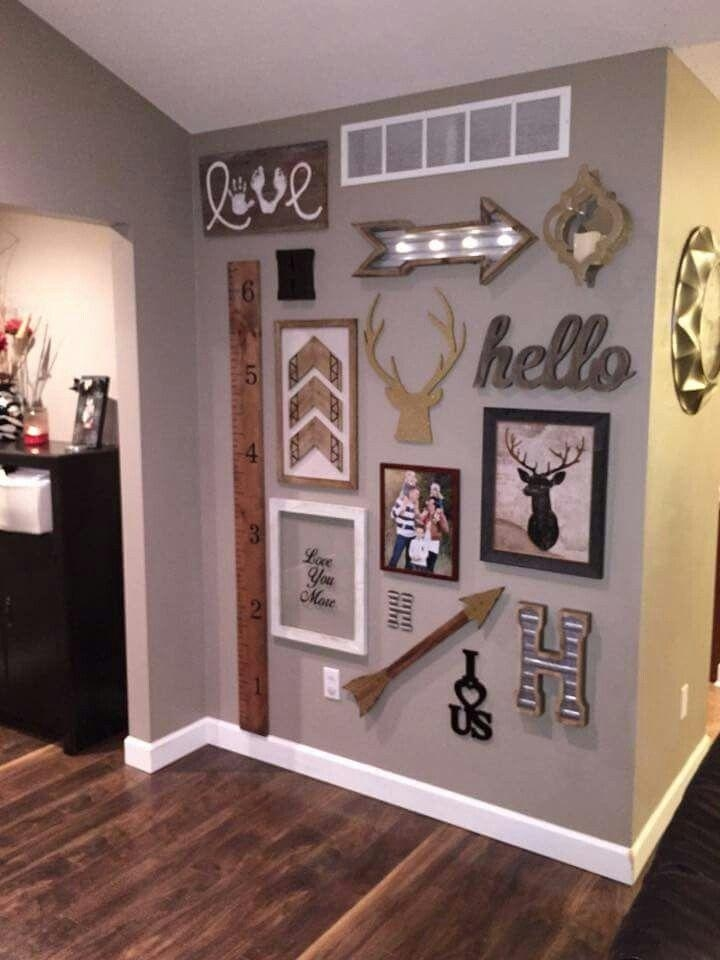 Best 20+ Family Wall Decor Ideas On Pinterest | Family Wall, Wall Throughout Family Photo Wall Art (View 15 of 20)