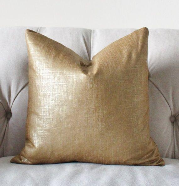 Best 20+ Gold Throw Pillows Ideas On Pinterest | Gold Room Decor In Gold Sofa Pillows (Image 3 of 20)