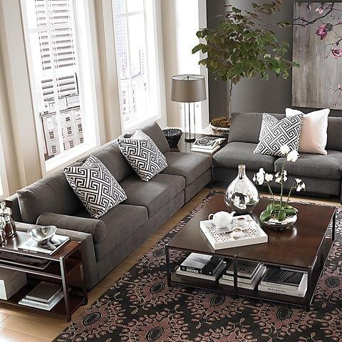 Best 20+ Gray Sectional Sofas Ideas On Pinterest | Family Room With Charcoal Gray Sectional Sofas (Image 4 of 20)