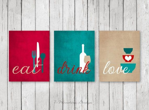 Best 20+ Kitchen Wall Art Ideas On Pinterest | Kitchen Art In Kitchen Wall Art Sets (View 12 of 20)