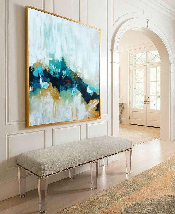 Best 20+ Large Canvas Ideas On Pinterest—No Signup Required In Oversized Abstract Wall Art (Image 5 of 20)