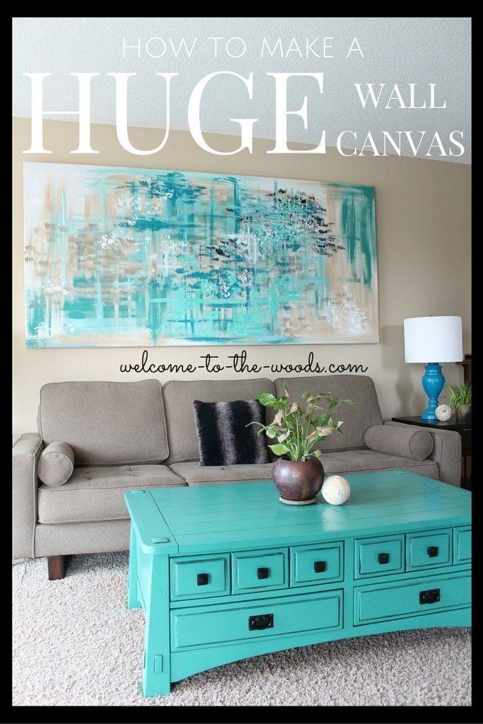 Best 20+ Large Canvas Ideas On Pinterest—No Signup Required Pertaining To 48X48 Canvas Wall Art (Image 9 of 20)