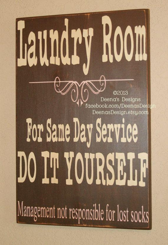 Best 20+ Laundry Room Signs Ideas On Pinterest | Laundry Signs Inside Laundry Room Wall Art (Image 4 of 20)