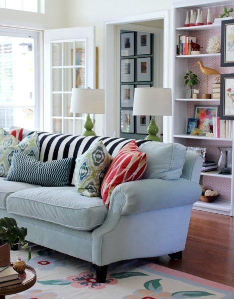 Best 20+ Light Blue Couches Ideas On Pinterest | Light Blue Sofa Throughout Blue Grey Sofas (View 18 of 20)