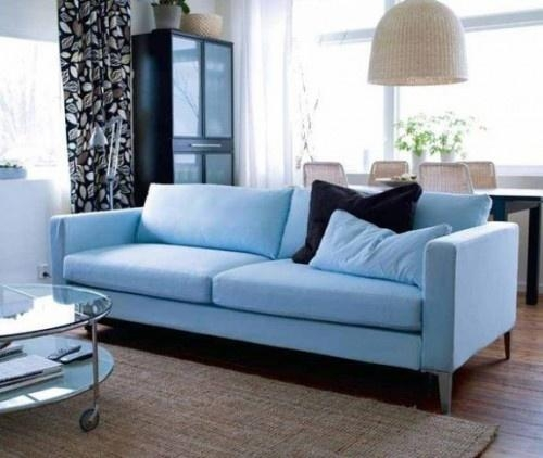 Best 20+ Light Blue Couches Ideas On Pinterest | Light Blue Sofa With Regard To Sky Blue Sofas (View 11 of 20)