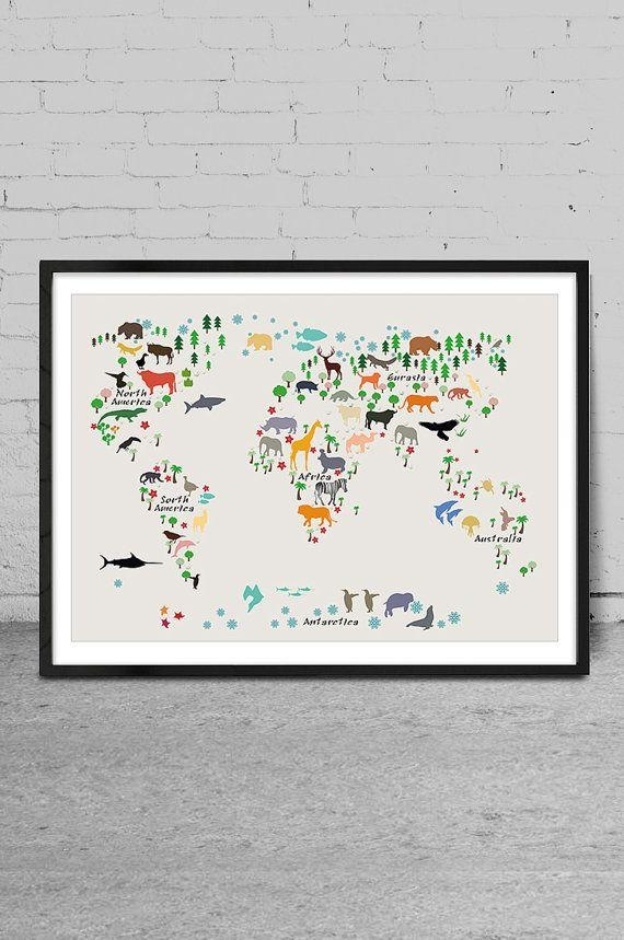 Best 20+ Map Wall Art Ideas On Pinterest | World Map Wall, Map With Regard To Maps For Wall Art (Image 7 of 20)
