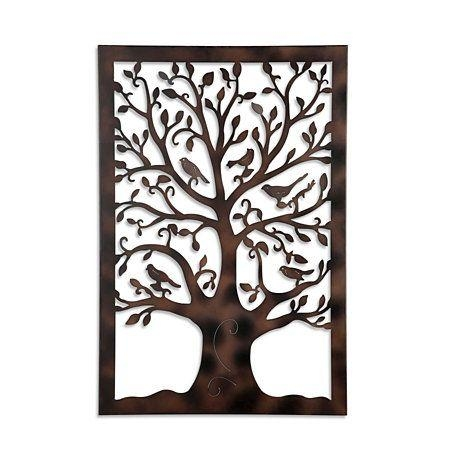 Best 20+ Metal Tree Wall Art Ideas On Pinterest | Metal Wall Art Pertaining To Art Deco Metal Wall Art (Image 10 of 20)