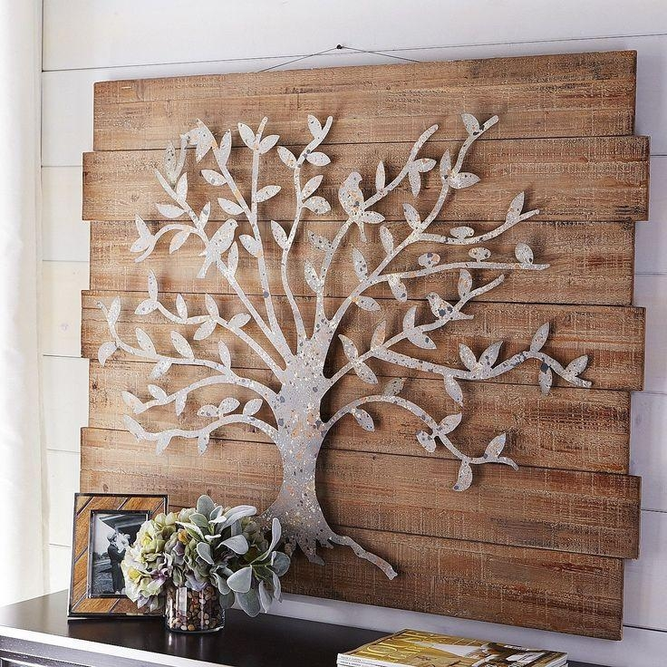 Best 20+ Metal Tree Wall Art Ideas On Pinterest | Metal Wall Art Regarding Metal Wall Art Trees And Branches (Image 7 of 20)