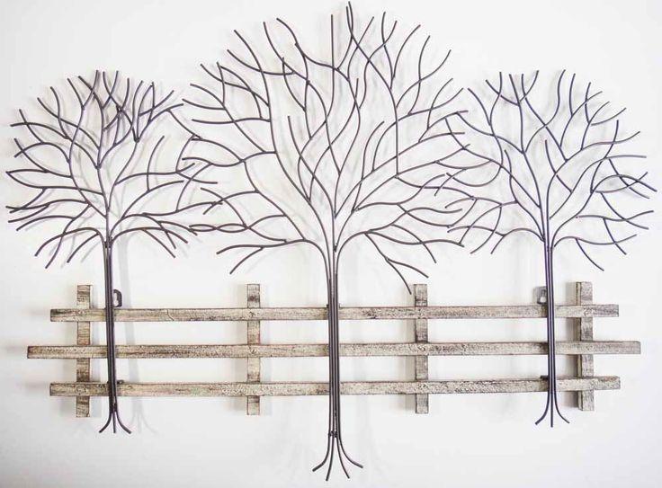 Best 20+ Metal Tree Wall Art Ideas On Pinterest | Metal Wall Art Regarding Metallic Wall Art (Image 3 of 20)