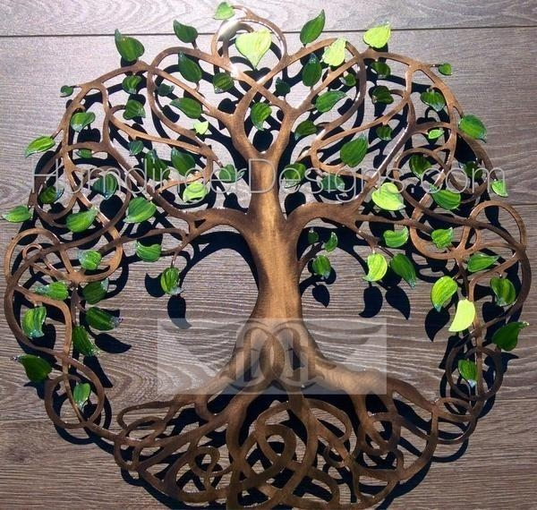 Best 20+ Metal Tree Wall Art Ideas On Pinterest | Metal Wall Art Within Celtic Tree Of Life Wall Art (Image 7 of 20)
