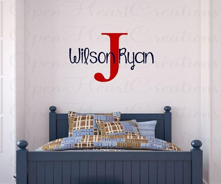 Best 20+ Name Wall Stickers Ideas On Pinterest | Wall Letter In Baby Name Wall Art (Image 9 of 20)