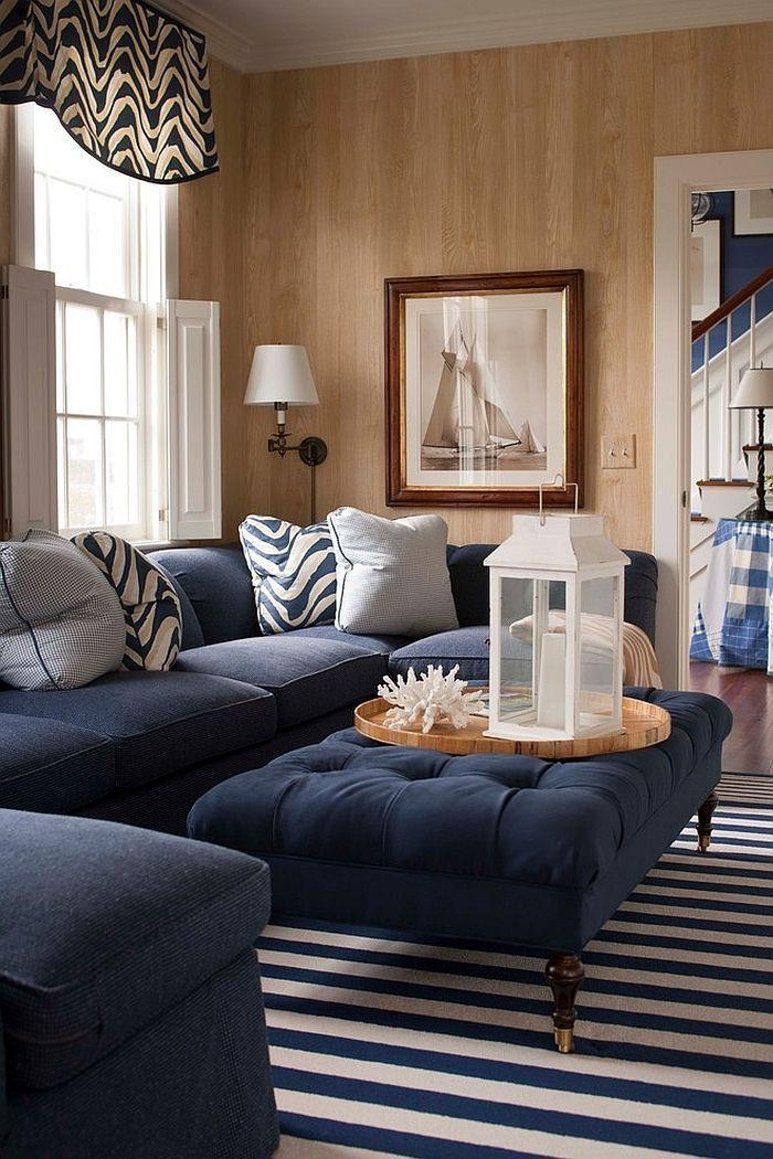 Best 20+ Navy Blue Couches Ideas On Pinterest | Blue Living Room Regarding Living Room With Blue Sofas (View 10 of 20)