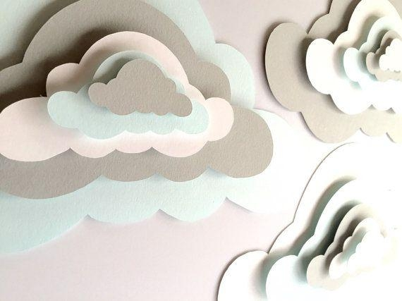 Best 20+ Paper Clouds Ideas On Pinterest | Cloud Decoration, Paper With 3D Clouds Out Of Paper Wall Art (View 11 of 20)