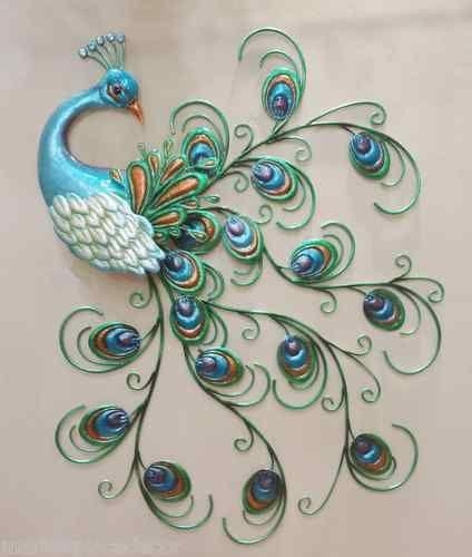 Best 20+ Peacock Decor Ideas On Pinterest | Peacock Bedroom In Peacock Metal Wall Art (Image 9 of 20)