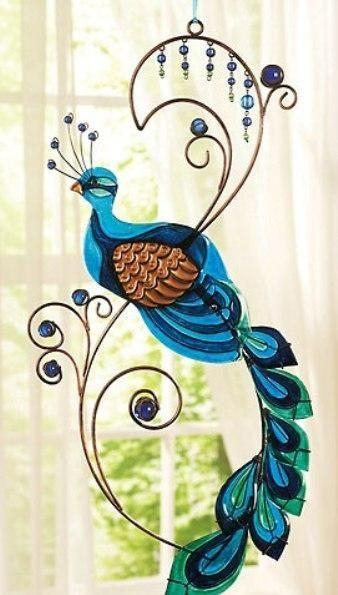 Best 20+ Peacock Wall Art Ideas On Pinterest | Peacock Art Within Peacock Metal Wall Art (Image 10 of 20)