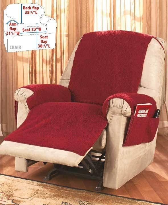 Best 20+ Recliner Chair Covers Ideas On Pinterest | Lazy In Slipcover For Reclining Sofas (View 7 of 20)