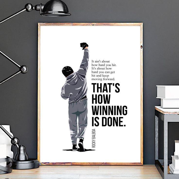 Best 20+ Rocky Balboa Poster Ideas On Pinterest | Rocky 1976 In Rocky Balboa Wall Art (Image 10 of 20)