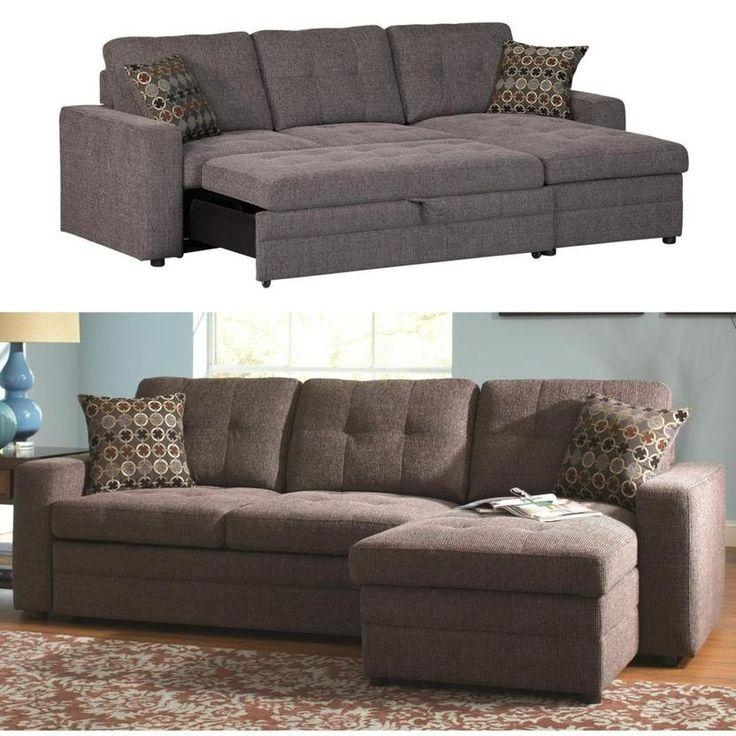 Best 20+ Sectional Sofa With Sleeper Ideas On Pinterest | Cheap Throughout Small Sofas With Chaise Lounge (View 6 of 20)