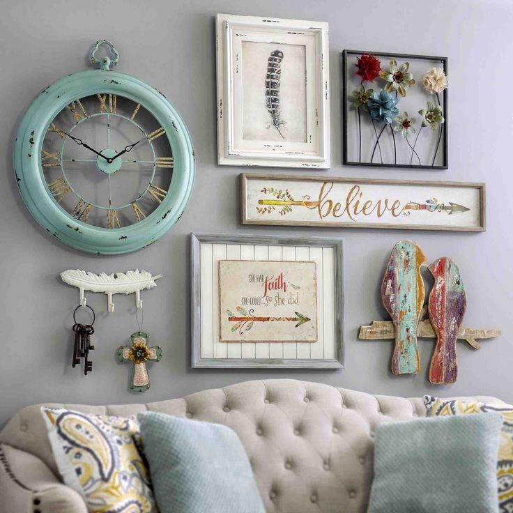 Shabby Chic Home Decor Ideas Part - 50: Best 20+ Shabby Chic Wall Decor Ideas On Pinterest | Shutter Decor In Shabby  Chic
