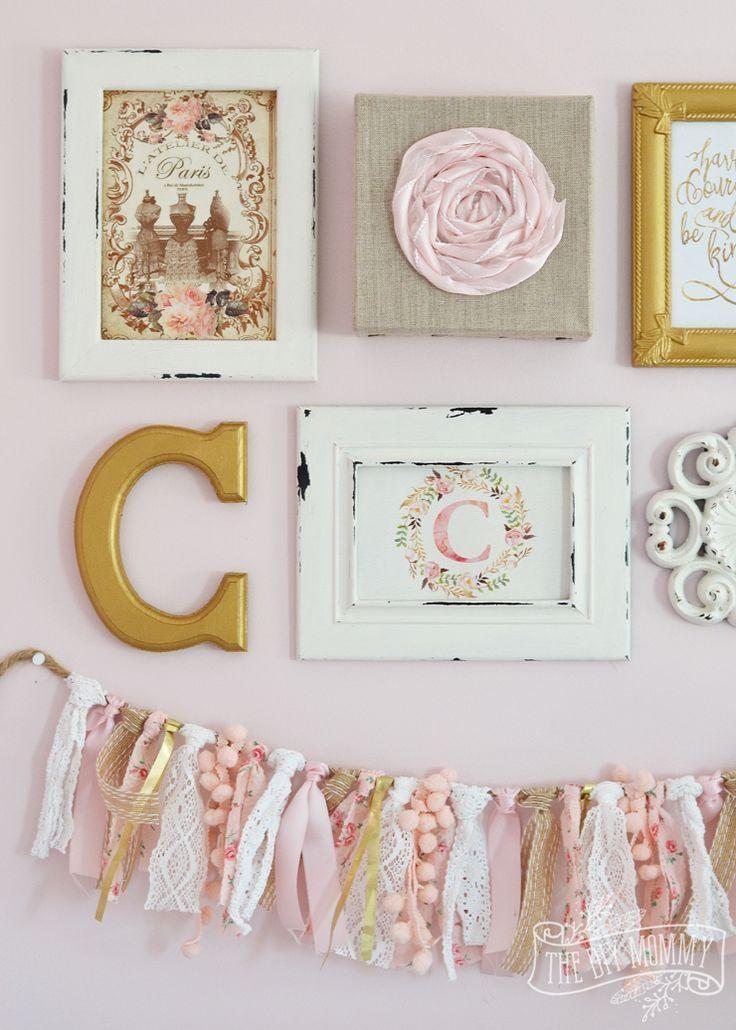 Best 20+ Shabby Chic Wall Decor Ideas On Pinterest | Shutter Decor Throughout Shabby Chic Wall Art (View 14 of 20)