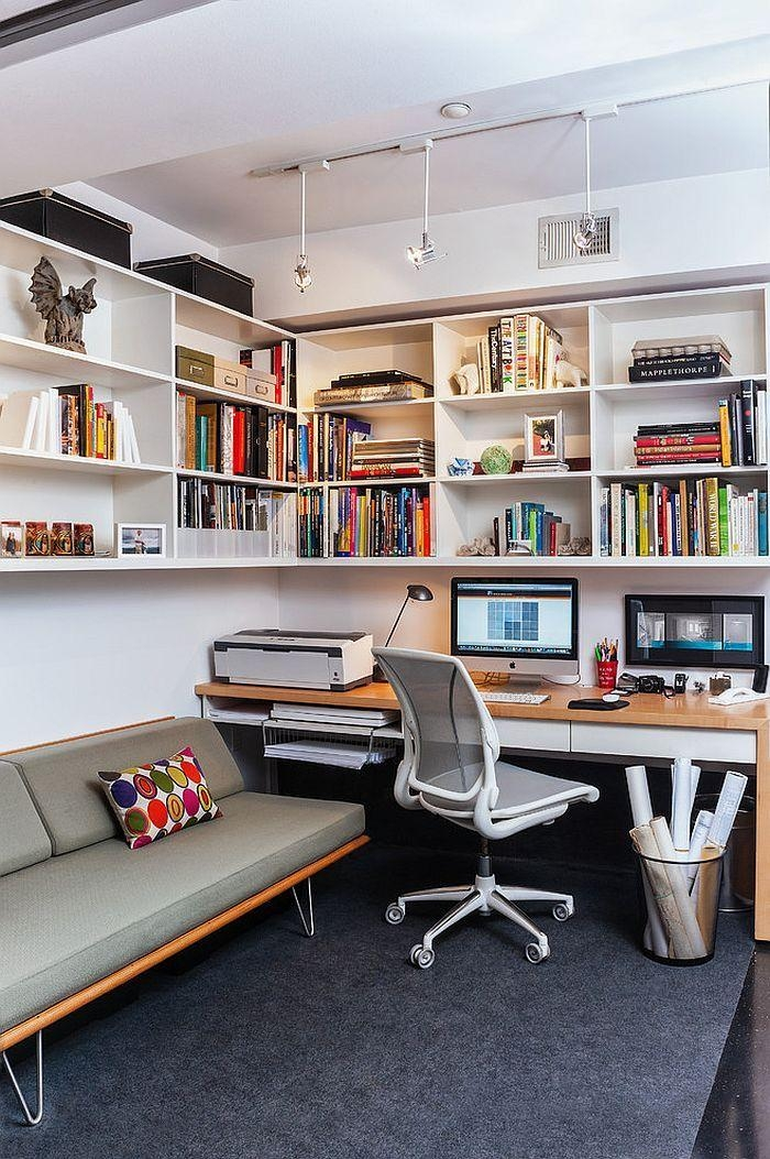 Best 20+ Small Home Offices Ideas On Pinterest | Home Office With Regard To Small Office Sofas (View 8 of 20)