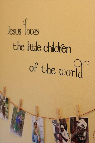 Best 20+ Sunday School Rooms Ideas On Pinterest | Sunday School Pertaining To Preschool Classroom Wall Decals (Image 8 of 20)