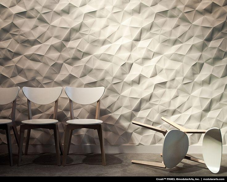 Best 20+ Textured Wall Panels Ideas On Pinterest | Wall Panel Throughout Modular Wall Art (View 20 of 20)
