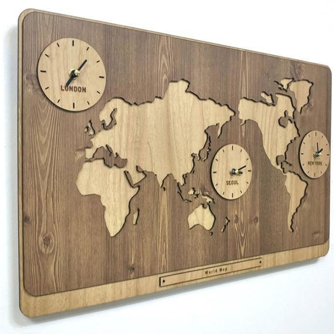 Best 20+ World Map Wall Art Ideas On Pinterest | Travel Throughout World Map Wood Wall Art (Image 7 of 20)