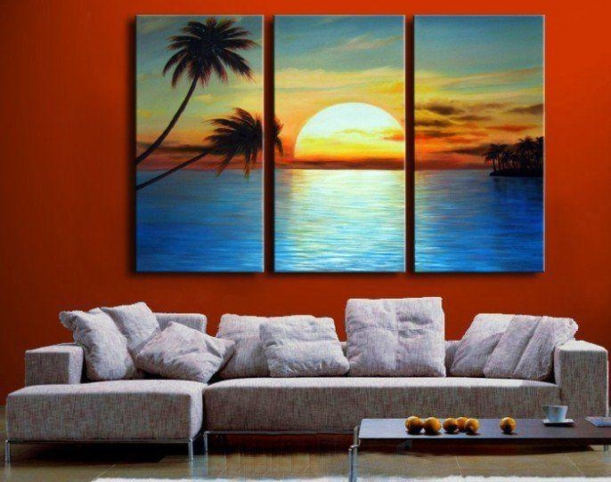 Best 25+ 3 Piece Canvas Art Ideas On Pinterest | Fall Canvas For 3 Piece Modern Wall Art (Image 5 of 20)
