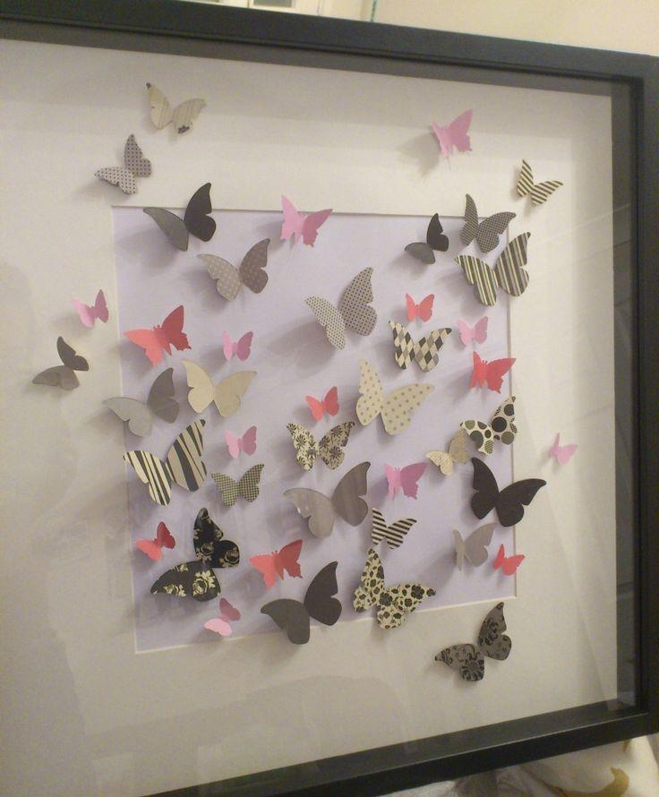 17 Best Ideas About Large Wall Art On Pinterest: 20 Best Butterflies 3D Wall Art