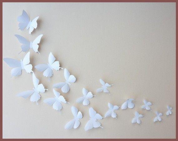 Best 25+ 3D Wall Ideas On Pinterest | 3D Tiles, 3D Wall Panels And Regarding White 3D Wall Art (Image 8 of 20)