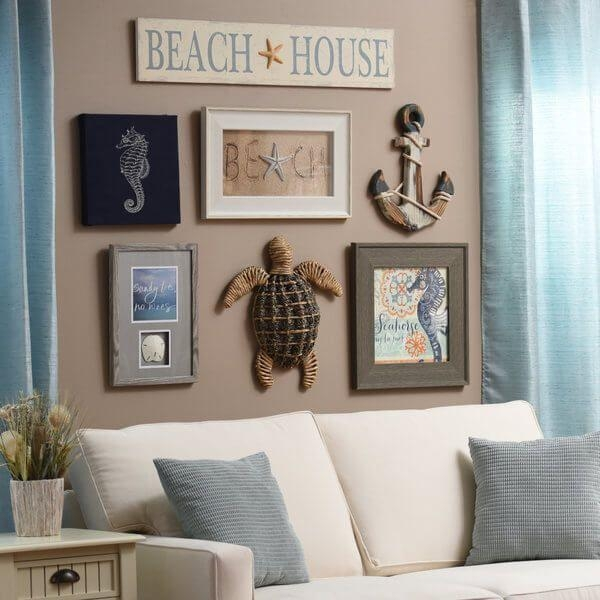 Best 25+ 3D Wall Painting Ideas On Pinterest | Cheap Wallpaper Pertaining To Beach Cottage Wall Decors (Image 12 of 20)