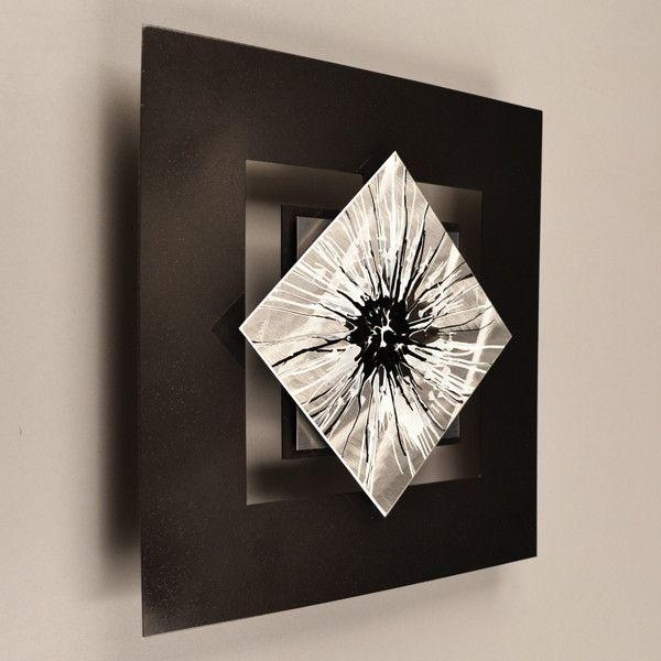 Best 25+ Abstract Metal Wall Art Ideas On Pinterest | Metal Wall In Contemporary Metal Wall Art Sculpture (Image 8 of 20)