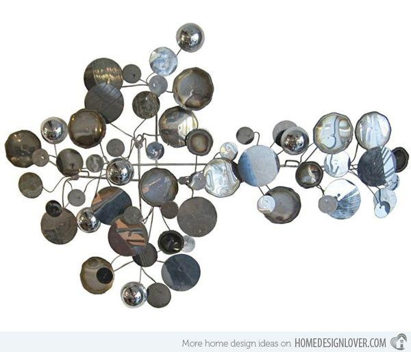 Best 25+ Abstract Metal Wall Art Ideas On Pinterest | Metal Wall Pertaining To Contemporary Metal Wall Art Sculpture (Image 9 of 20)