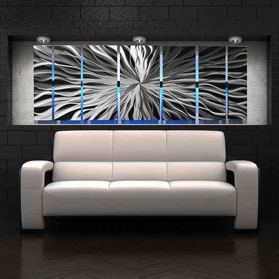 Best 25+ Abstract Metal Wall Art Ideas On Pinterest | Metal Wall Regarding Large Abstract Metal Wall Art (Image 5 of 20)