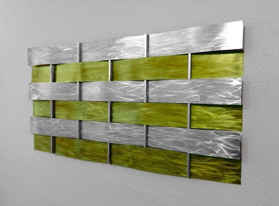 Best 25+ Abstract Metal Wall Art Ideas On Pinterest | Metal Wall With Regard To Yellow And Green Wall Art (Image 7 of 20)