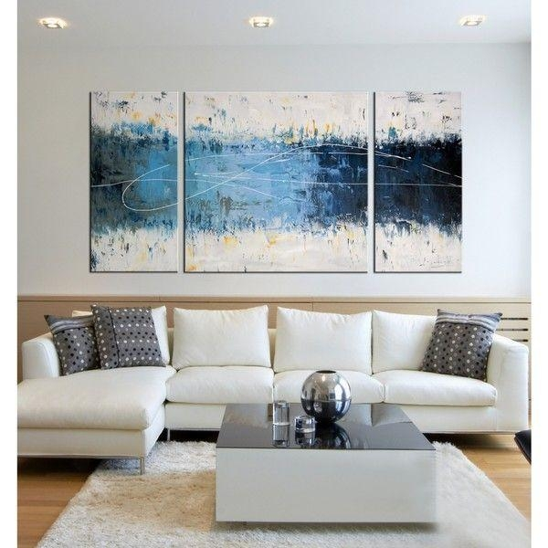 Best 25+ Abstract Wall Art Ideas On Pinterest | Abstract Canvas Throughout Big Canvas Wall Art (View 13 of 20)