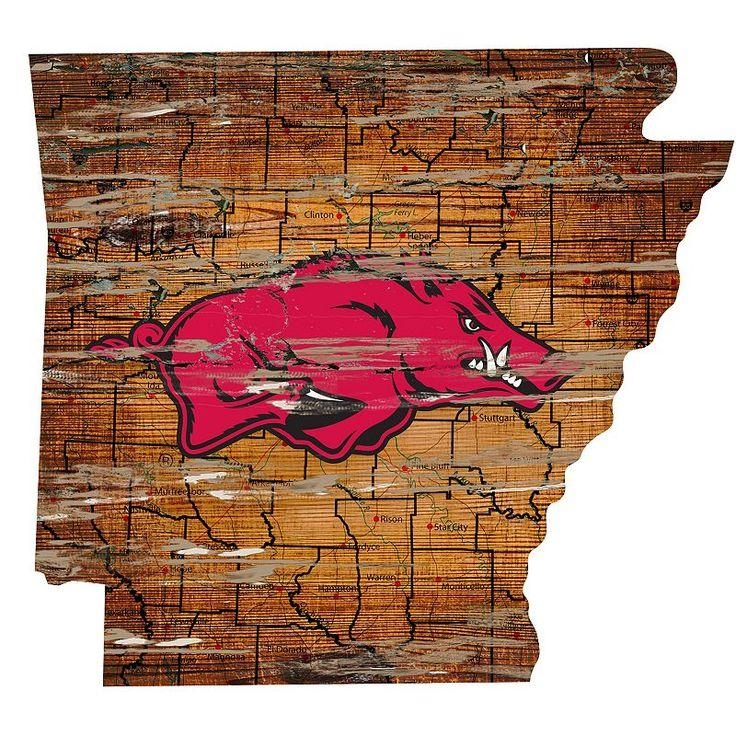 Best 25+ Arkansas Razorbacks Football Ideas On Pinterest For Razorback Wall Art (Image 16 of 20)