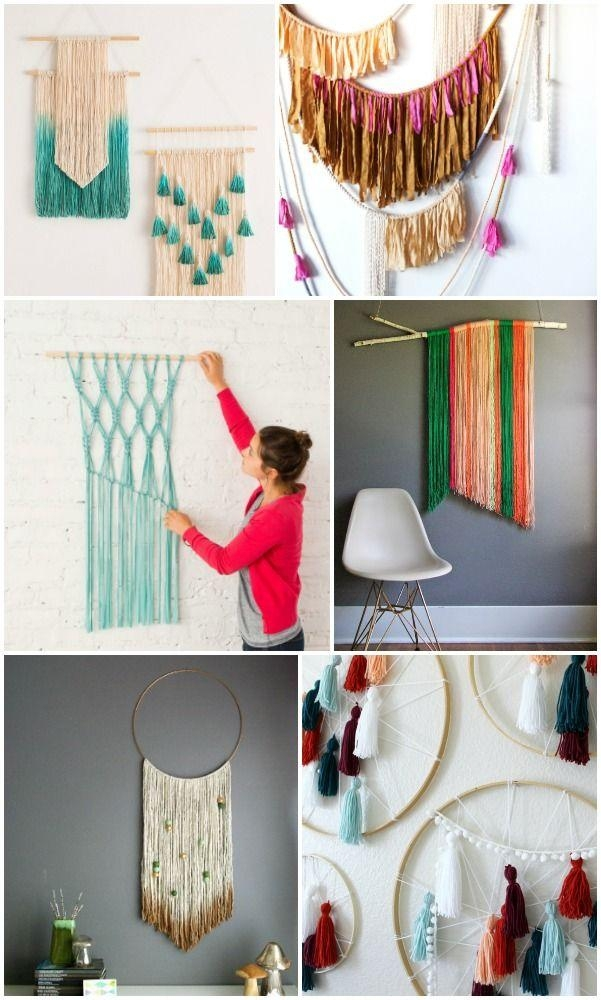 Best 25+ Art Walls Ideas On Pinterest | Hallway Bench, Gallery In Pinterest Diy Wall Art (Image 9 of 20)
