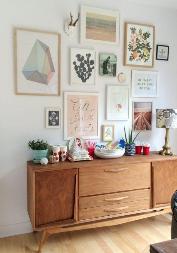Best 25+ Art Walls Ideas On Pinterest | Hallway Bench, Gallery Inside Cool Modern Wall Art (Image 5 of 20)