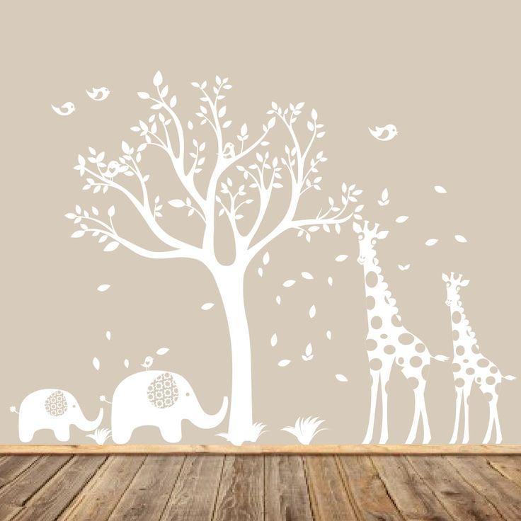 Best 25+ Baby Giraffe Nursery Ideas On Pinterest | Giraffe Nursery Pertaining To Nursery Wall Art (View 10 of 20)